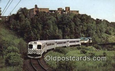 trn001306 - Go Train Service, Toronto, Ontario, Canada Trains, Railroads Postcard Post Card Old Vintage Antique