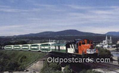 trn001315 - Le Tortillard Du St Laurent, Quebec Trains, Railroads Postcard Post Card Old Vintage Antique