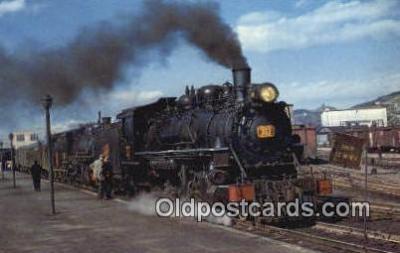 trn001326 - CNR Train #1, St Johns Newfoundland Trains, Railroads Postcard Post Card Old Vintage Antique