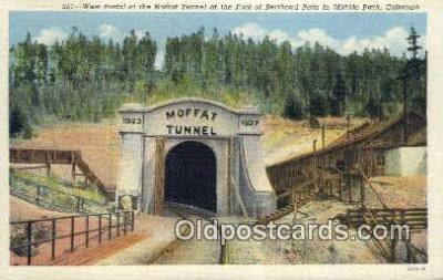 trn001397 - West Portal, Middle Park, Colorado, CO USA Trains, Railroads Postcard Post Card Old Vintage Antique