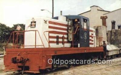 trn001418 - Lukens Steel Company's 76 Trains, Railroads Postcard Post Card Old Vintage Antique