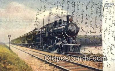 trn001456 - The Overland Limited, Portland, Oregon, OR USA Trains, Railroads Postcard Post Card Old Vintage Antique