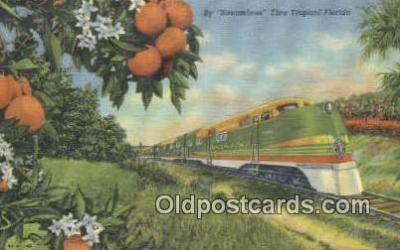 trn001497 - Streamliner, Florida, FL USA Trains, Railroads Postcard Post Card Old Vintage Antique