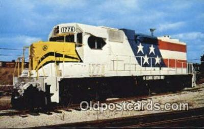 trn001509 - Illinois Central Gulf Railroads The American Eagle, GP38 Trains, Railroads Postcard Post Card Old Vintage Antique