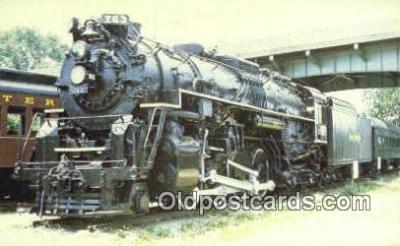 trn001515 - Roanoke Transportation Museum, Number 763, Chicago, Illinois, IL USA Trains, Railroads Postcard Post Card Old Vintage Antique