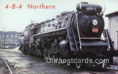 trn001516 - Canadian National Railroad, 484 Northern, Engine No 6218, Canada Trains, Railroads Postcard Post Card Old Vintage Antique