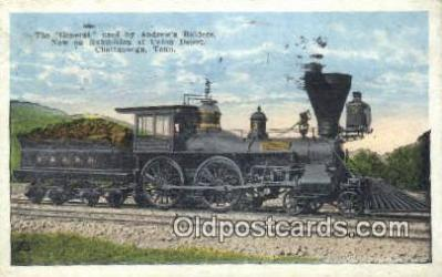 trn001520 - The General, Chattanooga, Tennessee, TN USA Trains, Railroads Postcard Post Card Old Vintage Antique