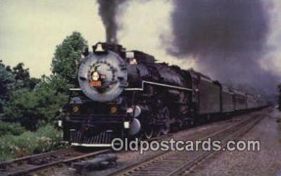 trn001540 - Southern Railways Locomotive Number 2716, Alexandria, Virginia, VA USA Trains, Railroads Postcard Post Card Old Vintage Antique