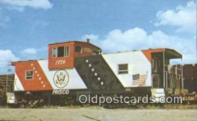 trn001549 - Frisco 1776, Tulsa, Oklahoma, OK USA Trains, Railroads Postcard Post Card Old Vintage Antique
