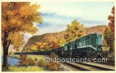 trn001595 - The Pittsburgh And Lake Erie Railroad Company Trains, Railroads Postcard Post Card Old Vintage Antique