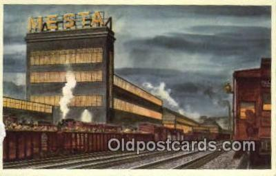 trn001596 - The Pittsburgh And Lake Erie Railroad Company Trains, Railroads Postcard Post Card Old Vintage Antique
