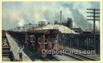 trn001598 - The Pittsburgh And Lake Erie Railroad Company Trains, Railroads Postcard Post Card Old Vintage Antique
