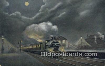 trn001602 - Scotch Express Trains, Railroads Postcard Post Card Old Vintage Antique