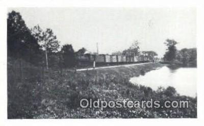 trn001632 - Trains, Railroads Postcard Post Card Old Vintage Antique