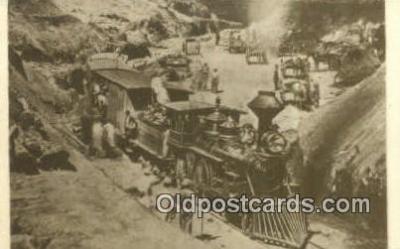 trn001673 - Repro image, Dixie Cut, Union Pacific Railroad Trains, Railroads Postcard Post Card Old Vintage Antique