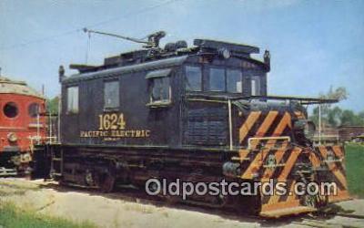 try001249 - Locomotive No 1624 Orange Empire Trolley Museum, Perris, CA, USA