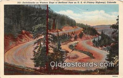 Switchbacks, Western Slope