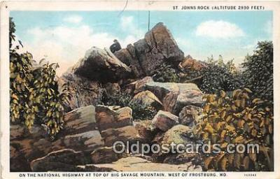 St Johns Rock, National Highway