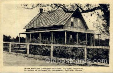 twn002019 - Dionne Quintuplets Postcard Postcards