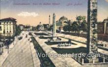 TR00018 - Parc du Suffan Ahmed Constantinople, Turkey Postcard Post Card, Kart Postal, Carte Postale, Postkarte, Country Old Vintage Antique