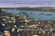 TR00023 - Vue Panoramique de Top Hane Constantinople, Turkey Postcard Post Card, Kart Postal, Carte Postale, Postkarte, Country Old Vintage Antique