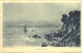 TR00031 - Artist L. Begas, Parmentier Constantinople, Turkey Postcard Post Card, Kart Postal, Carte Postale, Postkarte, Country Old Vintage Antique