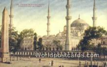TR00037 - Mosque of Sultan Ahmid Constantinople, Turkey Postcard Post Card, Kart Postal, Carte Postale, Postkarte, Country Old Vintage Antique