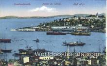 TR00039 - Pointe du Serail Constantinople, Turkey Postcard Post Card, Kart Postal, Carte Postale, Postkarte, Country Old Vintage Antique