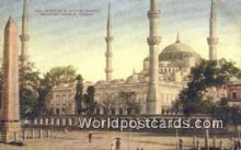 TR00041 - Mosque of Sultan Ahmid Constantinople, Turkey Postcard Post Card, Kart Postal, Carte Postale, Postkarte, Country Old Vintage Antique