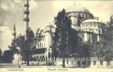 TR00053 - Mosquee Suleymanie Constantinople, Turkey Postcard Post Card, Kart Postal, Carte Postale, Postkarte, Country Old Vintage Antique