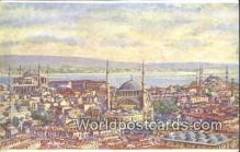 TR00061 - Vue Prise de la Tour de Serazkeriat Constantinople, Turkey Postcard Post Card, Kart Postal, Carte Postale, Postkarte, Country Old Vintage Antique