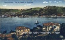 TR00062 - Vue du Bebek au Bosphore Constantinople, Turkey Postcard Post Card, Kart Postal, Carte Postale, Postkarte, Country Old Vintage Antique