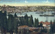 TR00063 - Corner d'Or Constantinople, Turkey Postcard Post Card, Kart Postal, Carte Postale, Postkarte, Country Old Vintage Antique