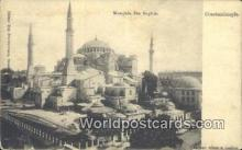TR00078 - Mosquee Ste. Sophie Constantinople, Turkey Postcard Post Card, Kart Postal, Carte Postale, Postkarte, Country Old Vintage Antique