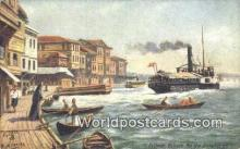 TR00080 - Roumeli Hisser on the Bosphorus Constantinople, Turkey Postcard Post Card, Kart Postal, Carte Postale, Postkarte, Country Old Vintage Antique