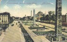 TR00087 - Parc du Suffan Ahmed Constantinople, Turkey Postcard Post Card, Kart Postal, Carte Postale, Postkarte, Country Old Vintage Antique