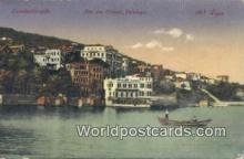 TR00091 - Lles des Princes, Prinkipo Constantinople, Turkey Postcard Post Card, Kart Postal, Carte Postale, Postkarte, Country Old Vintage Antique