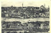 TR00107 - Manzarai Umumiyesi Istanbul, Turkey Postcard Post Card, Kart Postal, Carte Postale,   Country Old Vintage Antique