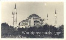 TR00112 - Aya Sofya Istanbul, Turkey Postcard Post Card, Kart Postal, Carte Postale,   Country Old Vintage Antique