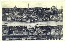 TR00119 - Manzarai Umumiyesi Istanbul, Turkey Postcard Post Card, Kart Postal, Carte Postale, Postkarte Country Old Vintage Antique