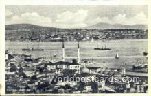TR00130 - Vue de Sculari Istanbul, Turkey Postcard Post Card, Kart Postal, Carte Postale, Postkarte Country Old Vintage Antique