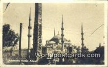 TR00132 - Sultan Ahmet Istanbul, Turkey Postcard Post Card, Kart Postal, Carte Postale, Postkarte Country Old Vintage Antique