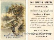 tc000240 - Marvin's Bakery, Pittsburgh  --  approx size inches = 2.75 x 4