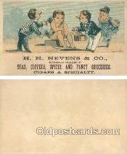 tc000256 - H.H. Nevens & Co.  --  approx size inches =  2.5 x 4.5