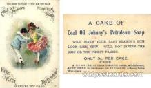 tc000354 - Coal Oil Johnny's Petroleum Soap  --  approx size inches =  3 x 4.25