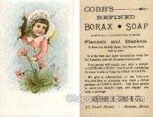 tc000360 - Cobb's Borax Soap  --  approx size inches =  2.75 x 4.5