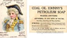 tc000391 - Coal Oil Johnny's Petroleum Soap -- approx size inches =  3 x 4.25