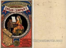 tc000394 - Mason & Hamlin Organ Company -- approx size inches =  3.5 x 5