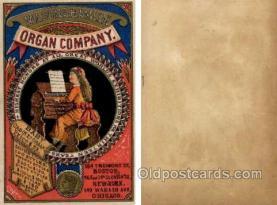 tc000410 - Mason & Hamlin Organ Company -- approx size inches =  3.25 x 5
