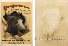 tc000420 - Chew Horse Head Tobacco, For sale by Smith, Perkins & Co.  Rochester, NY.  --  approx size inches = 3.25 x 4.5
